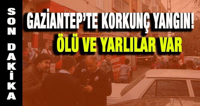 Gaziantep'te 2 yaşındaki çocuk yangında öldü