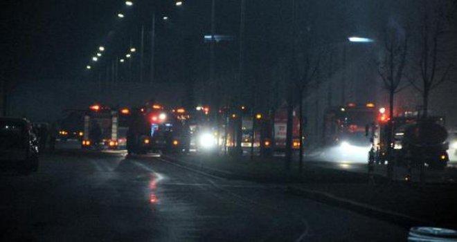 Gaziantep'te korkutan yangın! saatlerdir yanıyordu kontrol altında...