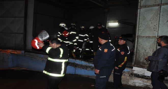 Gaziantep'te korkutan yangın! zarar çok büyük...