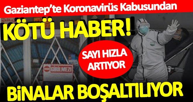 Gaziantep'te koronavirüs hızla yayılmaya devam ediyor!