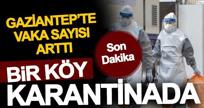 Gaziantep'te koronavirüs vaka sayısı ortaya çıktı