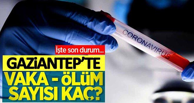 Gaziantep'te koronavirüsle ilgili son veriler açıklandı