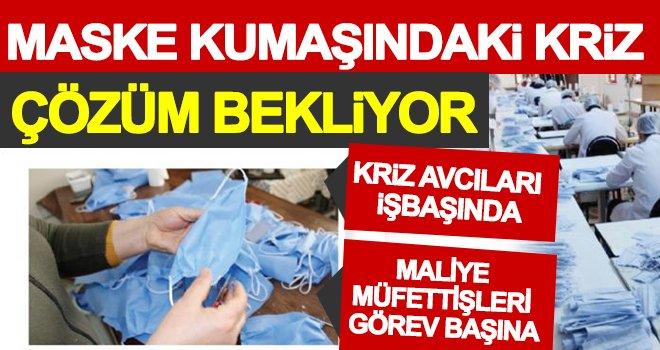 Gaziantep'te maske kumaşı fiyatları 10 katına çıktı!
