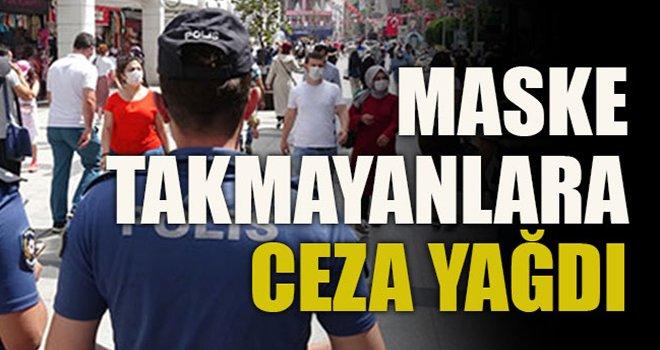 Gaziantep'te maske takmayanlara ceza yağdı...