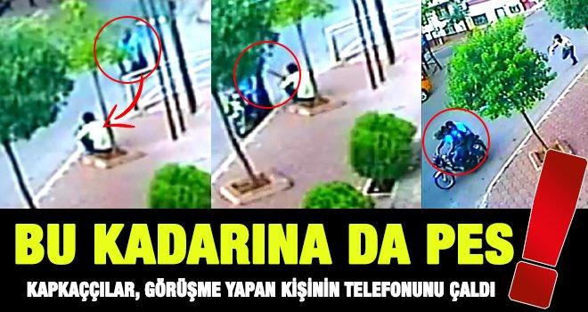 Gaziantep'te motosikletli kapkaççılardan pes dedirten olay!