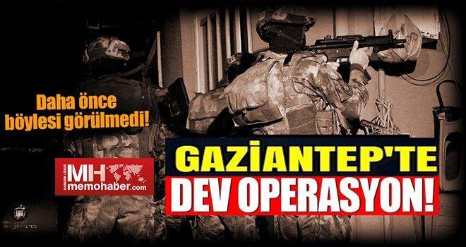 Gaziantep'te Narko -Tetör operasyonları hız kesmiyor