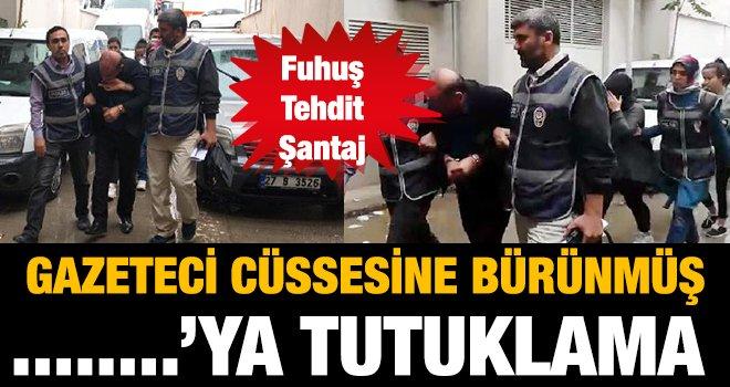 Gaziantep'te fuhuş operasyonunda 3 kişi tutuklandı!..