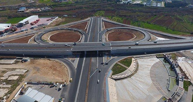 Gaziantep'te o yol trafiğe açıldı...
