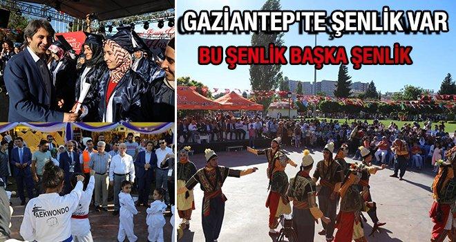 Gaziantep'te 'Öğrenme Şenliği' başladı