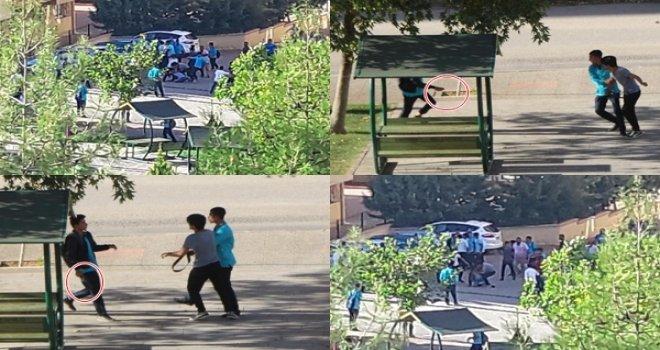 Gaziantep'te okulda meydan muharebesi: 4 yaralı