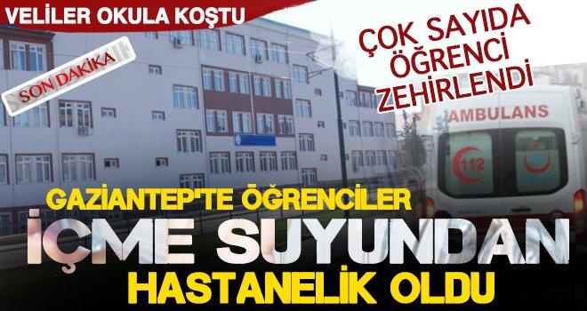 Gaziantep'te öğrencilerin görülmemiş şakası: Ambulanslarla taşındılar