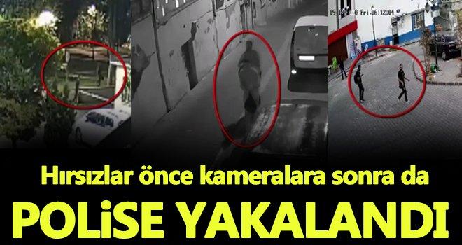 Gaziantep'te otodan hırsızlığa 2 gözaltı...