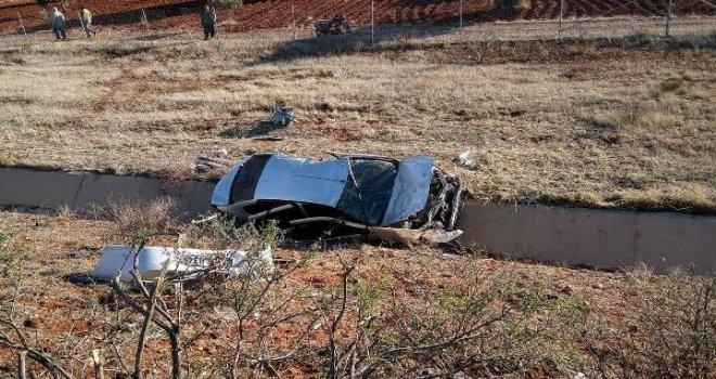 Gaziantep'te otomobil takla attı: 1 ölü, 6 yaralı