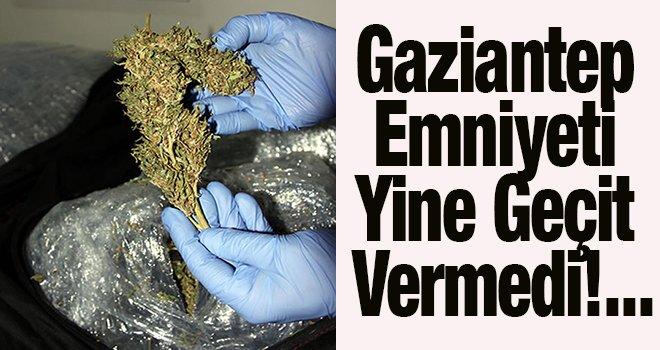 Gaziantep'te otomobilde 58 kilo esrar ele geçirildi