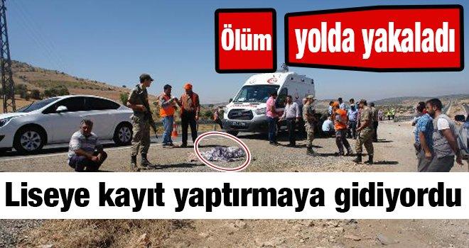 Gaziantep'te otomobilin çarptığı genç kız öldü