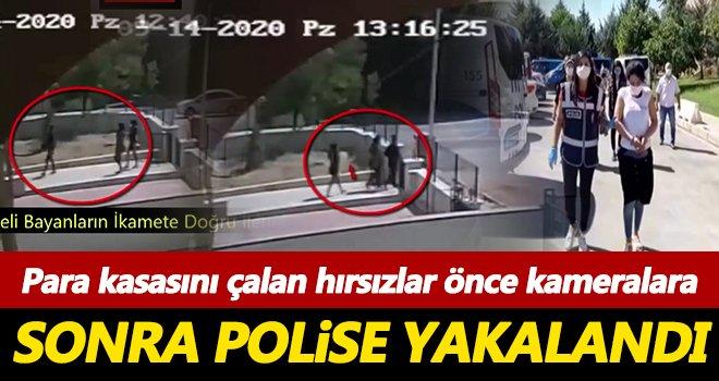 Gaziantep'te para kasasını çalan hırsızlar böyle yakalandı