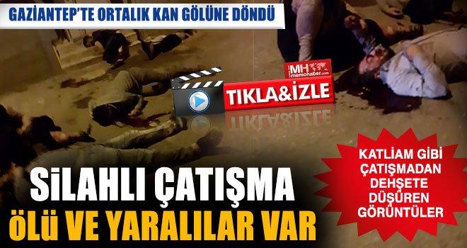 Gaziantep'te park kavgasında kan aktı: 4 ölü, 4 yaralı