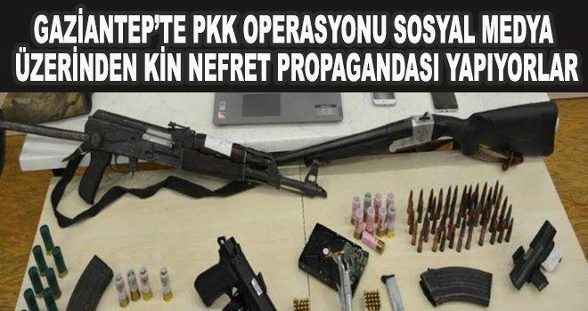 Gaziantep'te PKK operasyonu:12 gözaltı