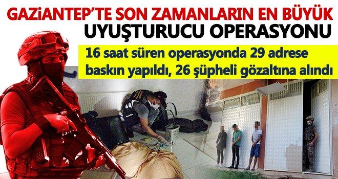 Gaziantep'te polisleri 9 sürgülü kapı da durduramadı!..