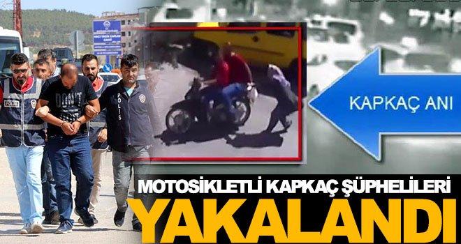 Gaziantep'te polisten kapkaççılara darbe!