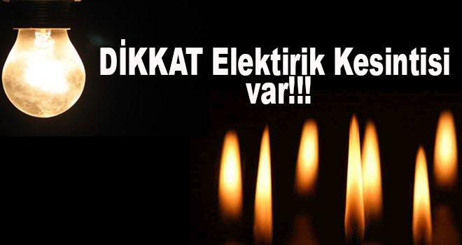 Gaziantep'te Salı günü elektrik kesintisi uygulanacak bölgeler