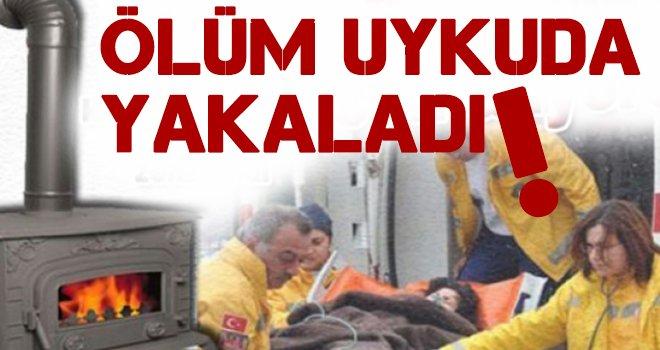 Gaziantep'te sessiz ölüm yaşlı çifti uykuda yakaladı!..