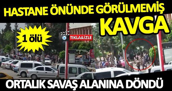 Gaziantep'te silahlı kavgada 1 kişi hayatını kaybetti