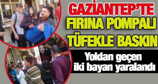 Gaziantep'te silahlı saldırı: 2 yaralı