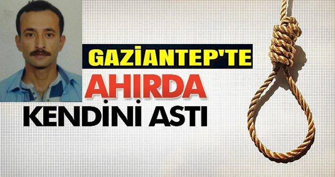 Gaziantep'te şok intihar: Bakın nereyi seçti