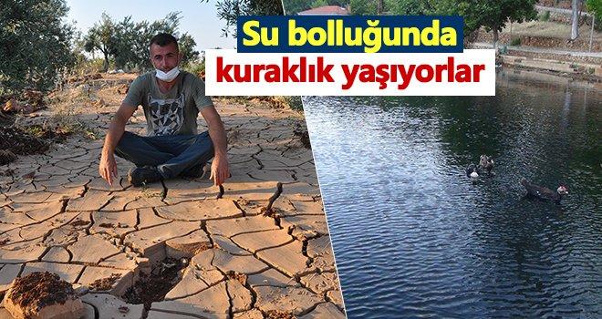 Gaziantep'te su bolluğunda kuraklık yaşıyorlar
