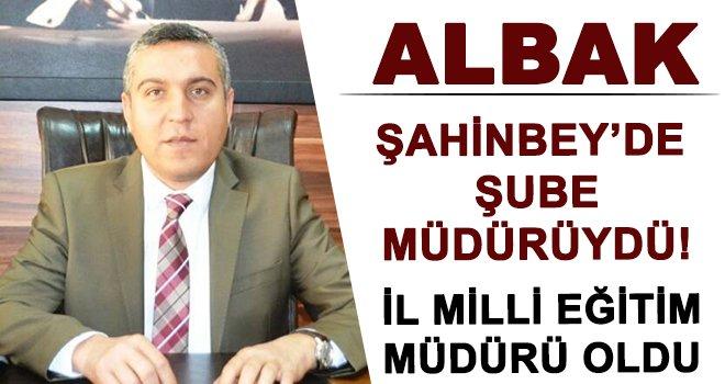 Gaziantep'te şube müdürü kararnameyle İl Müdürü oldu