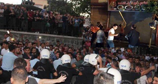Gaziantep'te Suriyelilere ait işyerlerinin tabelaları söküldü: 6 kişi yaralandı