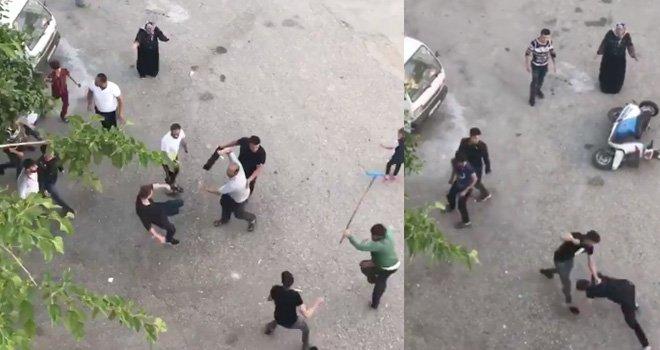 Gaziantep'te Suriyelilerin döner bıçaklı kavgasında kan aktı: 3 yaralı