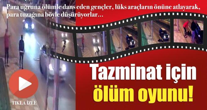 Gaziantep'te sürücülere ölümüne tuzak