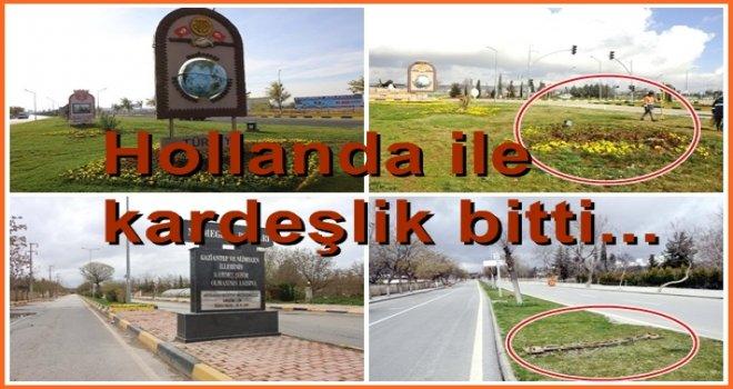 Gaziantep'te, tabelaları söküldü, kardeşlik bitti...