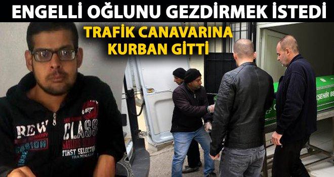 Gaziantep'te TIR'ın çarptığı motosikletteki engelli genç öldü