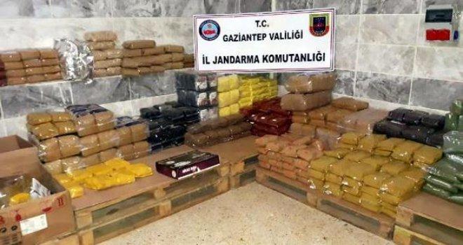 Gaziantep'te tonlarca sahte ve kaçak gıda ele geçti