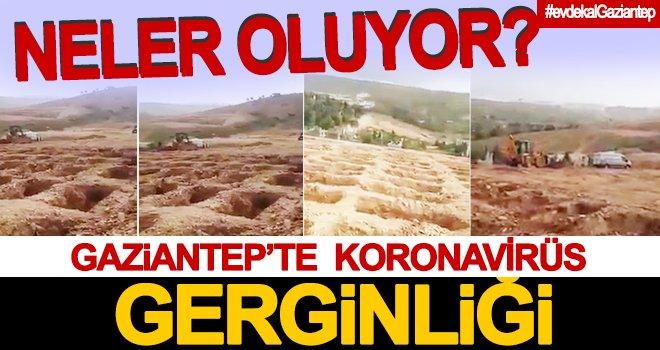 Gaziantep'te toplu mezar gerginliği...