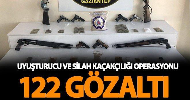Gaziantep'te torbacı operasyonu: 46 tutuklama