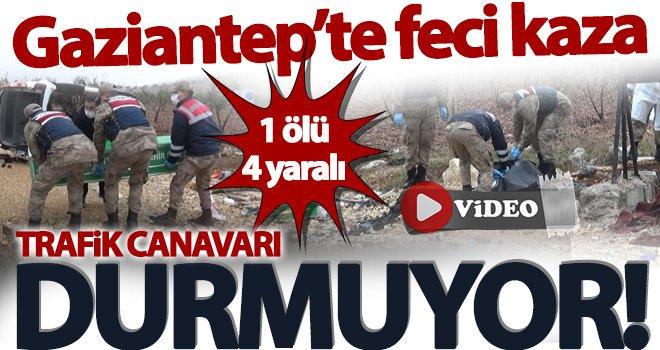 Gaziantep'te trafik canavarı boş durmuyor: Ölü ve yaralılar var