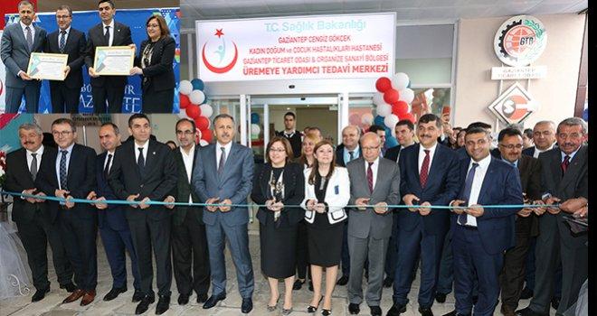 Gaziantep'te Tüp Bebek Merkezi açıldı