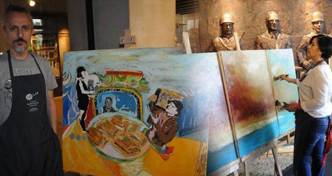 Gaziantep'te, 'Uluslararası Sanat Çalıştayı' başladı
