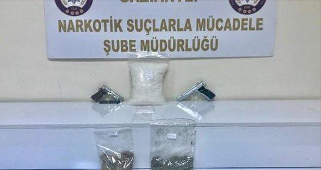 Gaziantep'te uyuşturucu operasyonu: 12 gözaltı