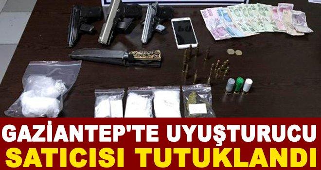 Gaziantep'te uyuşturucu satan şüpheli tutuklandı