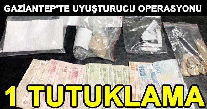 Gaziantep'te, uyuşturucu şebekesine operasyon!