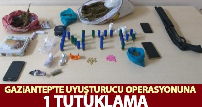 Gaziantep'te uyuşturucu tacirlerine operasyon: 1 tutuklama