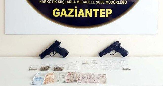Gaziantep'te uyuşturucu tacirlerine şafak operasyon: 18 gözaltı
