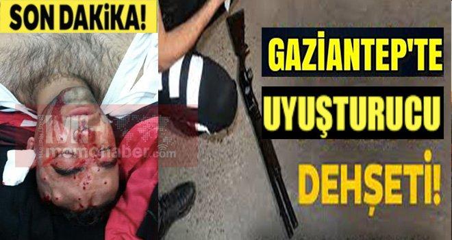 Gaziantep'te vahşet: Uyuşturucu kullanma dedi kurşuna hedef oldu.