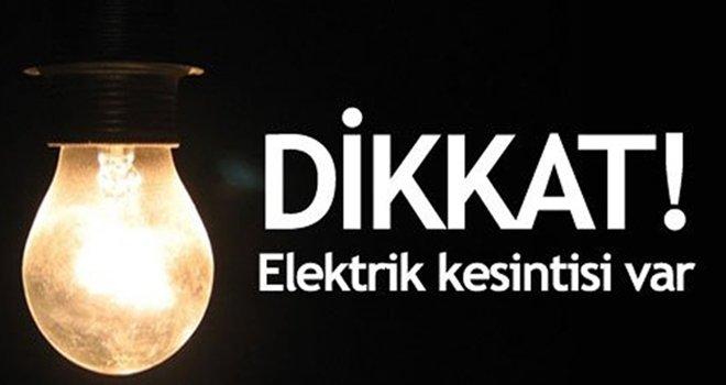 Gaziantep'te yarın birçok mahallede elektrik kesintisi olacak