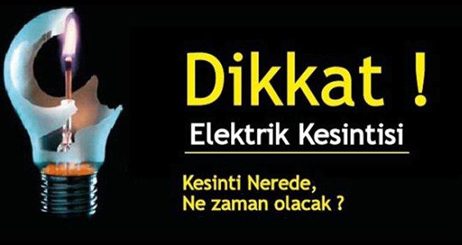 Gaziantep'te yarın o mahallelerde elektrikler kesilecek